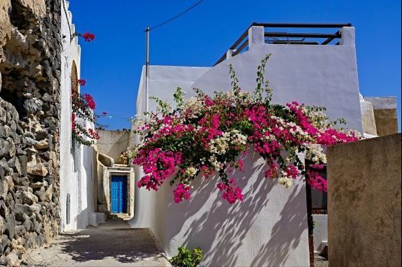In the small streets of Pyrgos