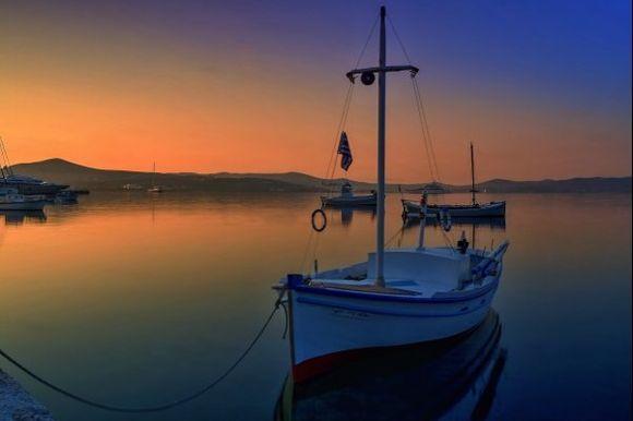 sunrise in Adamas