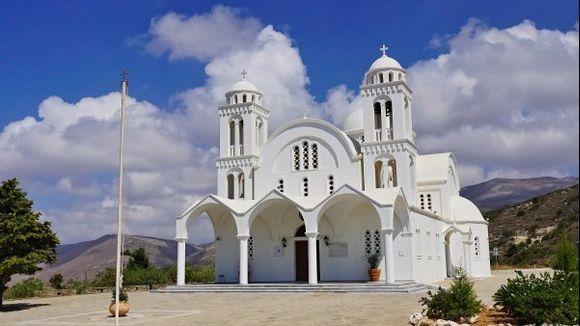 Monastery of Agios Arsenios (Christos of Dasos) at Petaloudes (Valley of the Butterflies)