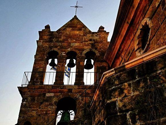 town in the dusk - Church of Saint Nicholas