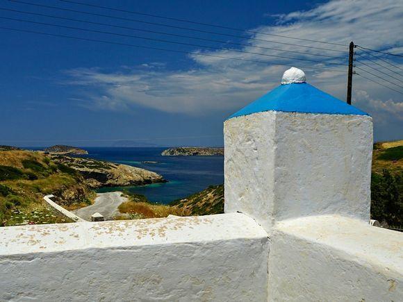 Agia Paraskevi - view on Paradeisa beach