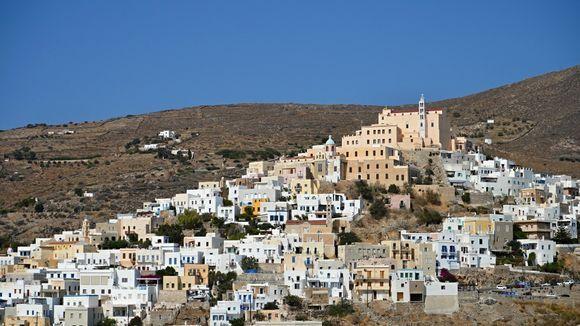 Ermoupoli view on Ano Syros