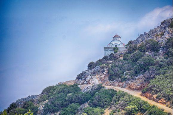 Rodon to Amarandon Church near Agios Nikolaos.