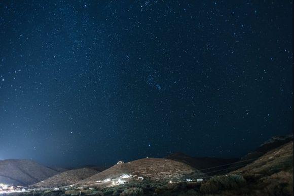 Starry night in Katapola