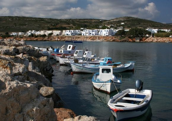 fisher boats in ambelas