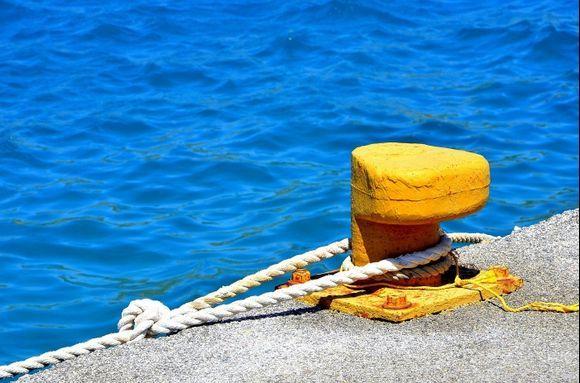 Agia Galini - At the harbour