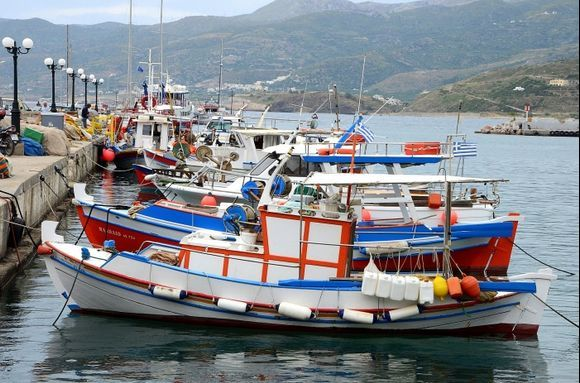 Sitia - At the harbour