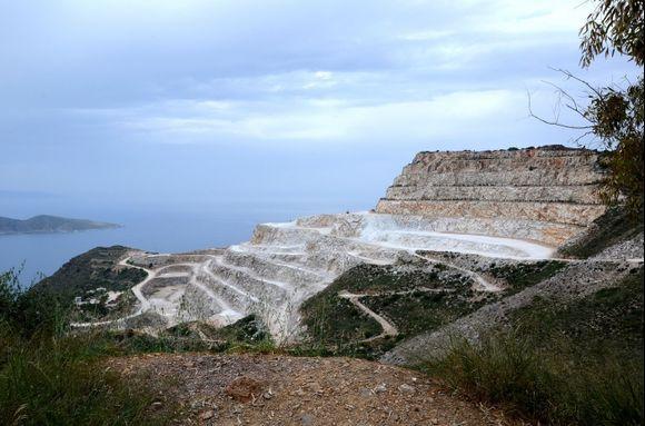 Quarry near Mochlos