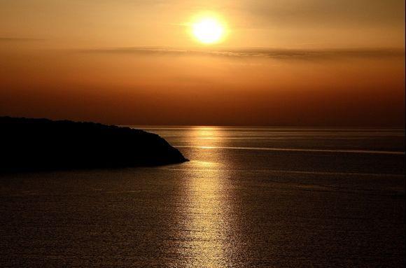 Morning Sun at Agios Nikolaos