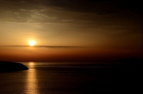 Sunrise at Agios Nikolaos