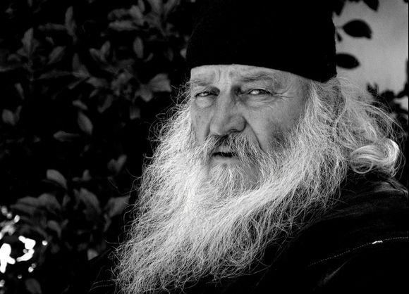 Monk of Monastery Agios Nikolaos