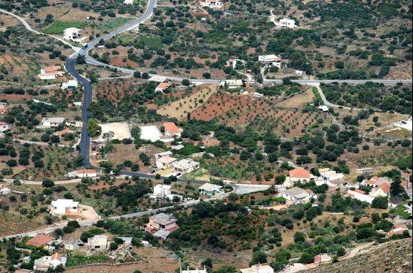 Akrotiri from Skloka-Mountain