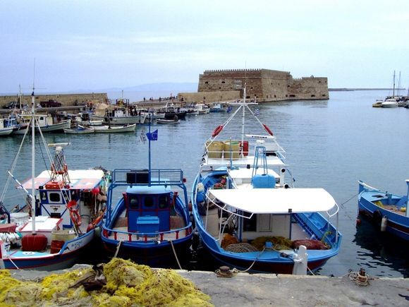 Iraklion harbour