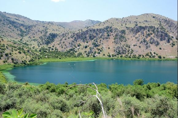 Lake of Kournas