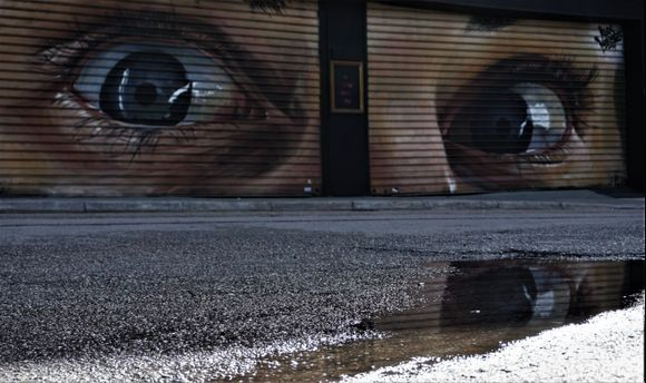 The city is watching you!