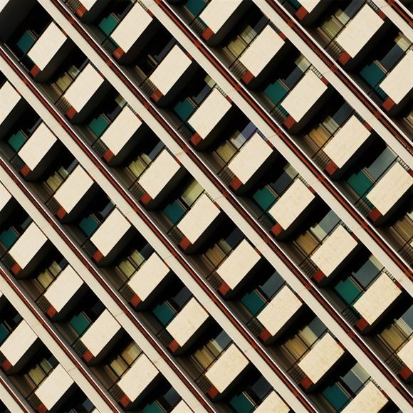Trying to be creative by seeing Athenian landmarks in a different perspective.  * This is Hilton hotel in Athens. It is considered a great sample of the