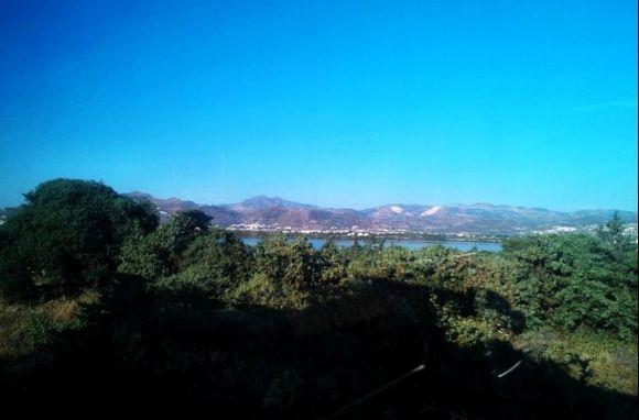 view to the salt lake
