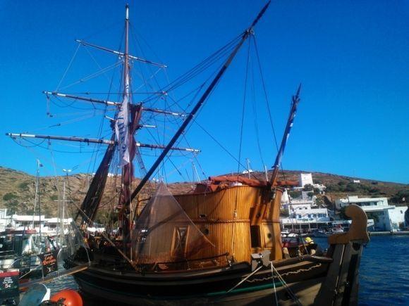 sailing boat....