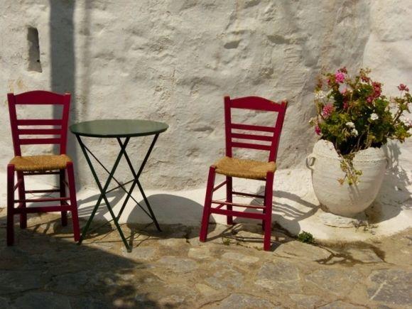Take a seat and enjoy the sun..
