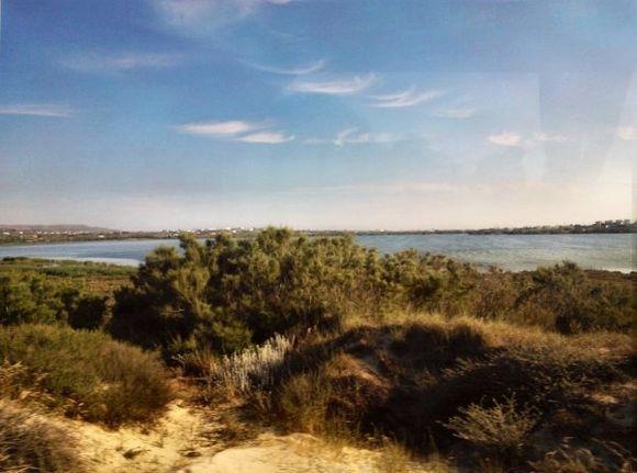 View to salt lake