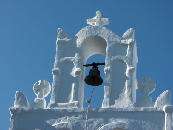 Belltower in the daylight...