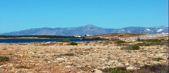 landscape with Naxos in the background