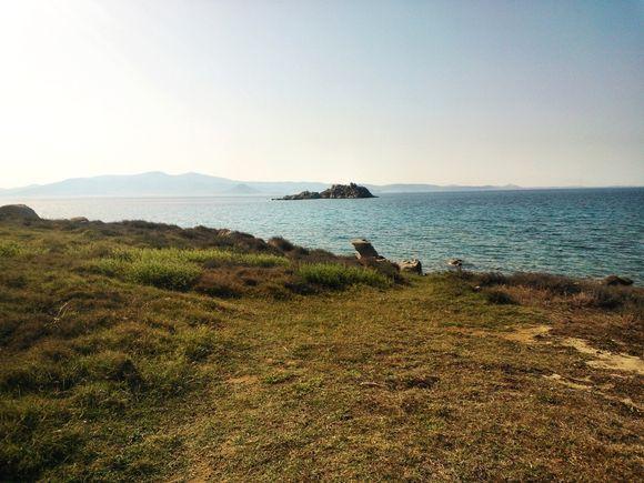 Islet between islands.....
