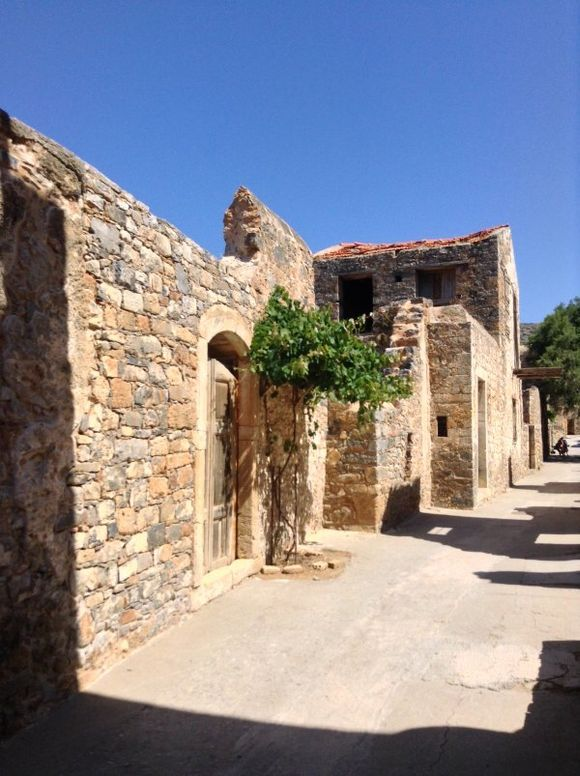 Spinolonga, Crete.  Just before the crowds came.