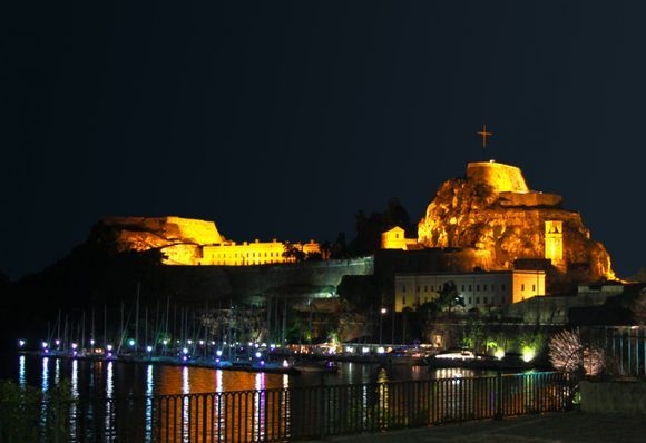 Old Fortress by night