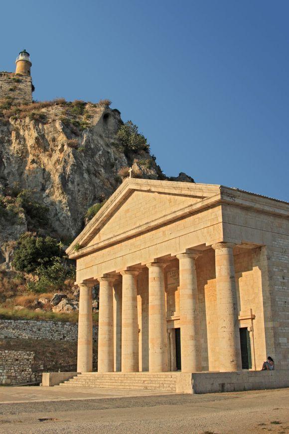 Agios Georgios Church and Lighthouse