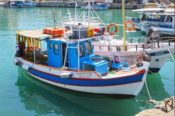 Fishing boats at old port