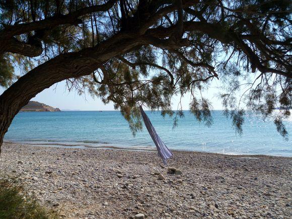 My wind direction flag (Kouremenos beach)