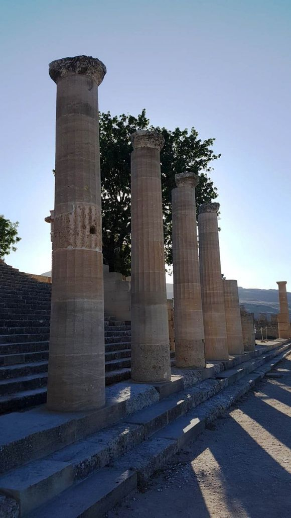 Doric Temple Athena Lindos