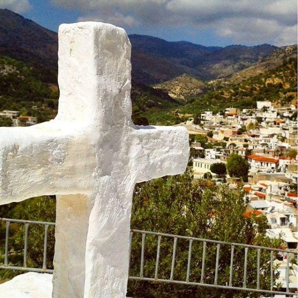 Macro cross-village, Crete, Lassithi