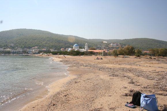 Skala beach, AgistriSkala beach,