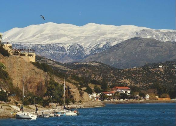 Crete south coast