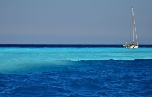 Colors of the blue