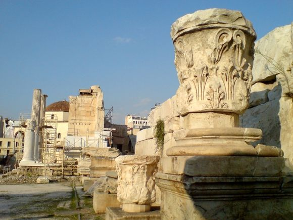 Hadrian\'s Library, Athens