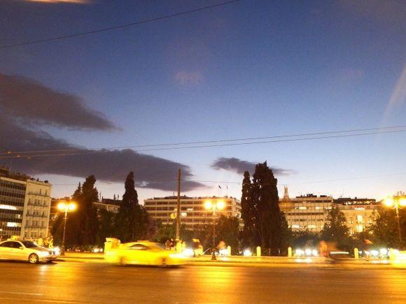Close to night