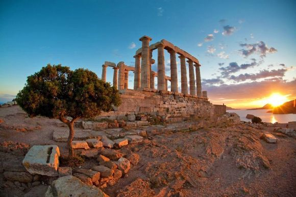 Cape Sounion, AthensCape Sounion,