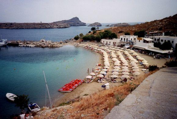lindos beach