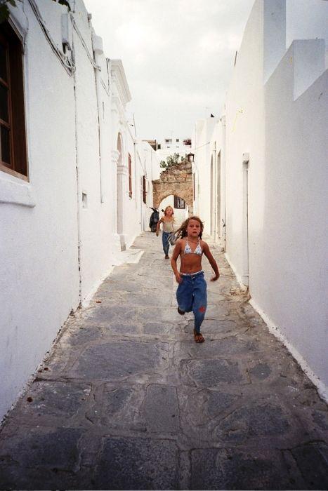 lindos...narrow street