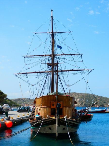 Pirate boat.