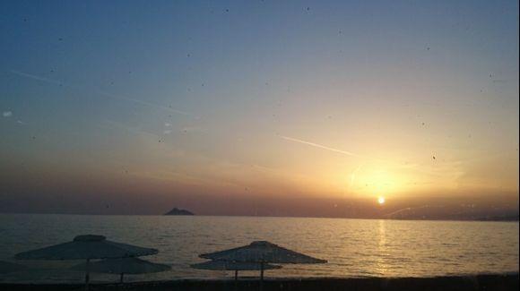 Sunset at Kalamaki
