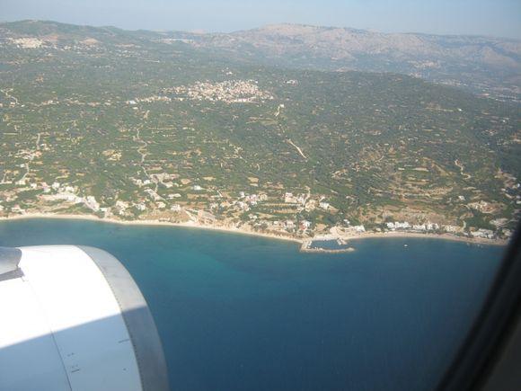 Agia fotini.(Kallimasia village on the back)