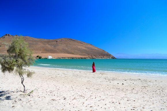 Paros amazing beach