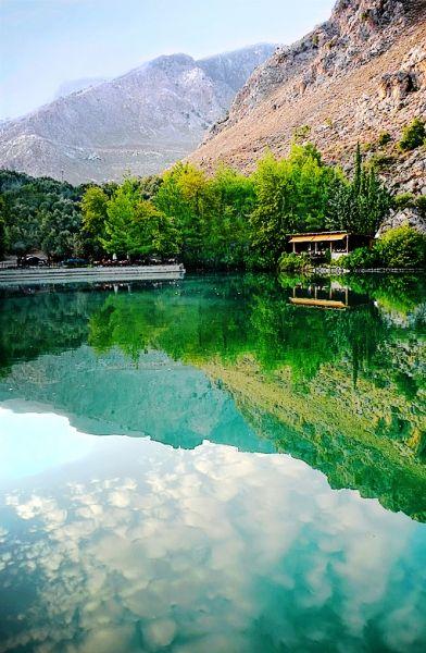 The small lake of Zaros