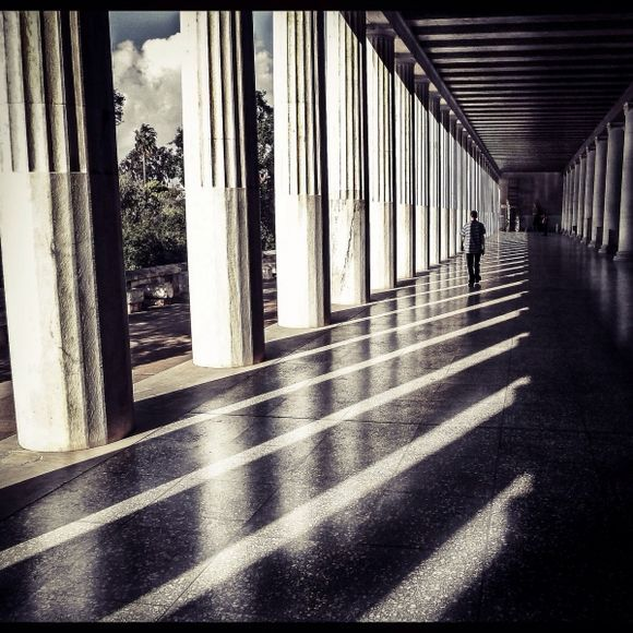 The Stoa in Athens