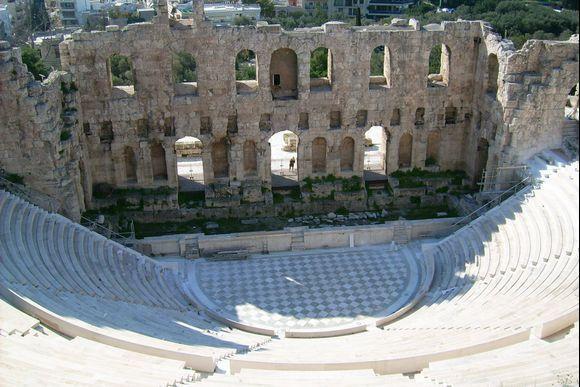 Theatre of Dionysus. Acropolis