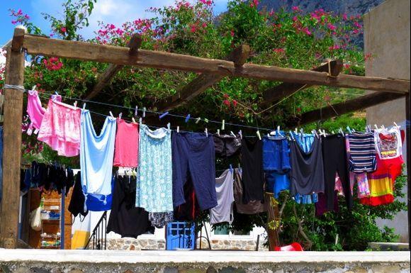 Laundry, Telendos island
